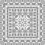 Bezszwowego konturu kwiecisty wzór Obraz Stock