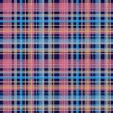 Bezszwowego retro tekstylnego tartanu szkockiej kraty wzoru w kratkę tło Obrazy Stock