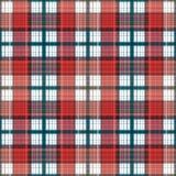 Bezszwowego retro tekstylnego tartanu szkockiej kraty wzoru w kratkę tło Zdjęcie Royalty Free