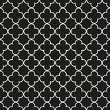 Bezszwowego rocznika kratownicy trellis geometryczny wzór royalty ilustracja
