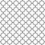 Bezszwowego rocznika kratownicy trellis geometryczny wzór ilustracja wektor