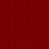 Bezszwowego rocznika maswerku kwadrata geometrii linii krzyża wzoru Chiński nadokienny tło Zdjęcie Royalty Free