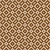 Bezszwowego rocznika sepiowy i brown abstrakcjonistyczny geometryczny wzór royalty ilustracja
