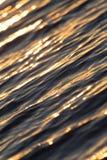 Bezszwowego tekstura Ciepłego koloru zmierzchu wody Olśniewająca powierzchnia Obrazy Stock
