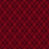 Bezszwowego Wektorowego Boudoir stylu Czerwony Rzemienny tło ilustracja wektor