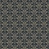 Bezszwowego wektorowego królewskiego rocznika kwiecisty wzór projekt dla pokryw, opakowanie, tkanina, tapety Fotografia Royalty Free