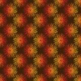 Bezszwowego wektoru wzoru abstrakcji geometryczny dandelion ilustracji