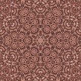 Bezszwowej abstrakta wzoru kalejdoskopowej mozaiki ornamentacyjny druk Obraz Royalty Free