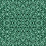Bezszwowej abstrakta wzoru kalejdoskopowej mozaiki ornamentacyjny druk Zdjęcie Stock