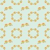 Bezszwowej deseniowej mody tęczy skromni okulary przeciwsłoneczni zdjęcie stock