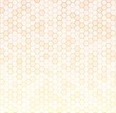 Bezszwowej tekstury hex szara siatka również zwrócić corel ilustracji wektora Zdjęcia Stock