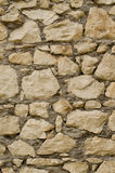 Bezszwowej tekstury kamienna ściana Obraz Royalty Free