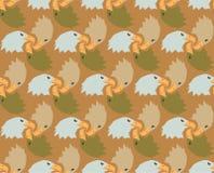 Bezszwowi Łysego Eagle wzoru tła kamuflażu kolory Zdjęcie Royalty Free