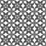 Bezszwowi abstrakcjonistyczni kwiatów wzory Czarny i biały wektorowy tło Geometrical ornament Obrazy Stock