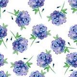 Błękitne róże Obrazy Royalty Free