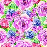 Tło z różami Obraz Stock