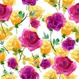 Tło z różami Zdjęcie Stock