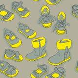 Bezszwowi buty Zdjęcia Royalty Free