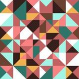 Bezszwowi deseniowi geometryczni kształty Obrazy Royalty Free