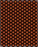 Bezszwowi deseniowi kształty Honeycomb obraz stock
