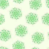 Bezszwowi fractals i elementy obracanie i torsion w cieniach Ilustracja Wektor