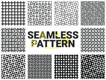 bezszwowi geometryczni wzory ilustracji