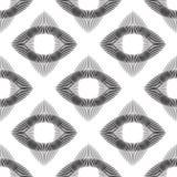 Bezszwowi monochromatyczni abstraktów wzory Zdjęcie Royalty Free