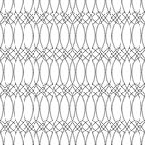 Bezszwowi monochromatyczni abstraktów wzory Obraz Royalty Free