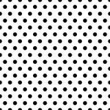 Bezszwowi okręgi, kropka wzór Płynnie powtarzalna polki kropka royalty ilustracja