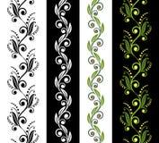 bezszwowi ornamentacyjni wzory Obraz Royalty Free