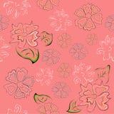 Bezszwowi patternwith kwiaty Fotografia Royalty Free