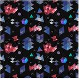 Bezszwowi pierwotni geometryczni wzory minimalizm Zdjęcie Royalty Free