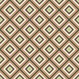Bezszwowi retro ornamentów kwadraty Zdjęcia Stock