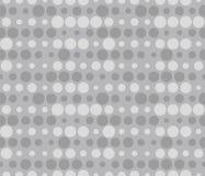 Bezszwowi rzędy kropki z halftone skutkiem B?bla wz?r ilustracji