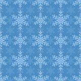 bezszwowi tło płatek śniegu Wakacyjny boże narodzenie wzór ilustracji