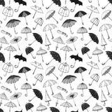 bezszwowi tło parasole Obraz Royalty Free