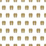 Bezszwowi tło wzoru buty Obraz Royalty Free