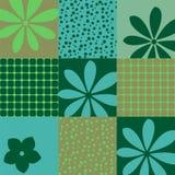 Bezszwowi Tapetowi geometryczni wzory Ilustracja Wektor