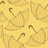 Bezszwowi tekstura parasole Obrazy Royalty Free
