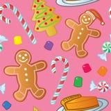 Bezszwowi Wakacyjni Cukierki Obraz Royalty Free