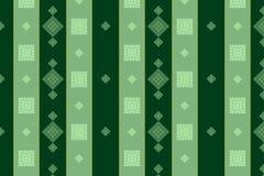 Bezszwowi wzory z abstrakty malującymi kwadratami Ilustracja Wektor