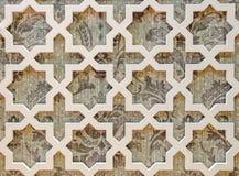 Bezszwowy ściana wzoru styl robić drewno Obrazy Stock