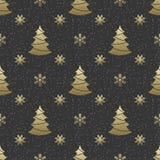 Bezszwowy świąteczny wzór Obraz Royalty Free