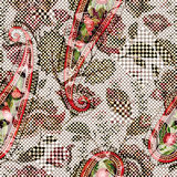 bezszwowy światło kwiecisty wzór Ręka rysujący tło kolorowe tło Wzór może używać dla tkaniny, tapeta Zdjęcia Royalty Free