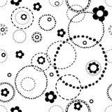 Bezszwowy światło wzór z doodles Zdjęcie Royalty Free