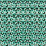 Bezszwowy abstrakcjonistyczny błękitny grunge Zdjęcia Royalty Free