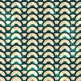 Bezszwowy abstrakcjonistyczny błękitny grunge Zdjęcie Stock