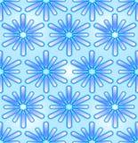 Bezszwowy abstrakcjonistyczny backgroud w błękicie Obrazy Royalty Free