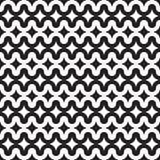 Bezszwowy abstrakcjonistyczny geometryczny krzywa wzór ilustracja wektor