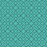 Bezszwowy abstrakcjonistyczny geometryczny wzór z liniami i prostokątami - wektor eps8 royalty ilustracja